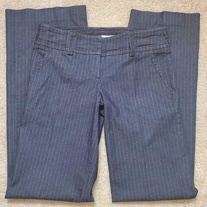 TRINA TURK Pinstripe Wide Leg Trouser Pants